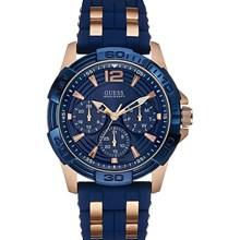 Relógio Guess Masculino Rose Azul 92560GPGSRU1
