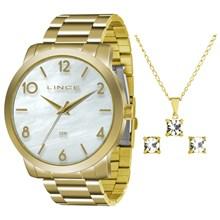 Relógio Lince Feminino Kit LRG4374LK B2KX
