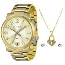 Relógio Lince Feminino Kit LRG4453LK C2KX
