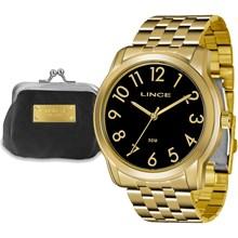 Relógio Lince Feminino Kit LRG4456LK P2KX