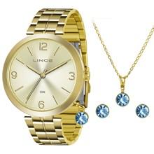 Relógio Lince Feminino Kit LRG4458LK C2KX
