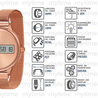 Relógio Lince Feminino SDR4635L RXRX