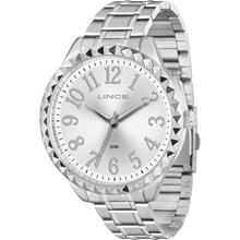 Relógio Lince Glam feminino prata LRM4311L