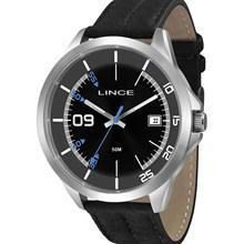 Relógio Lince Masculino Couro Preto MRC4361S P2PX