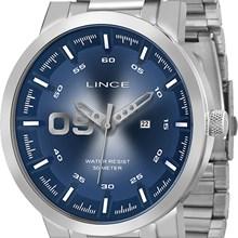 Relógio Lince Masculino Prata Azul MRMH017S DBSX