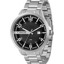 Relógio Lince Masculino Prata Preto MRM4271S P2SX