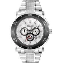 Relógio Magnum Masculino Cronógrafo Prata Cinza MA32050Q