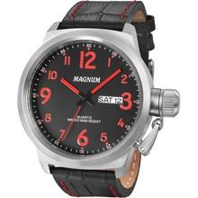 Relógio Magnum Masculino Prata Preto MA33415V
