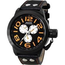Relógio Magnum Masculino Preto Laranja MA31560J