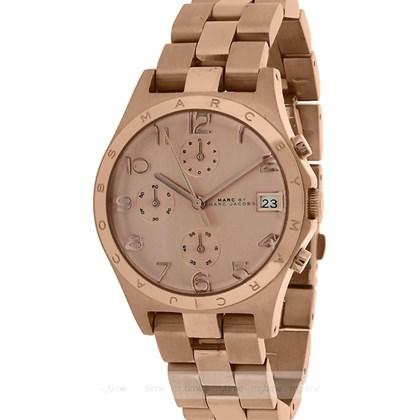 c7f6ec3a14f Relógio Marc Jacobs Feminino Cronógrafo Rose EBM3074 - My Time