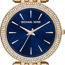Relógio Michael Kors Darci Feminino Dourado Azul MK3406