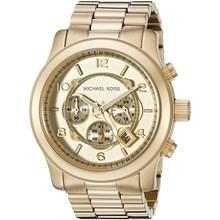 Relógio Michael Kors Feminino Cronógrafo Dourado MK8077
