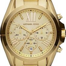 Relógio Michael Kors Feminino Cronógrafo Dourado OMK5605