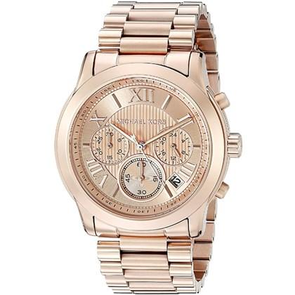 35dee9abcbf80 Relógio Michael Kors Feminino Cronógrafo Rose MK6275 - My Time