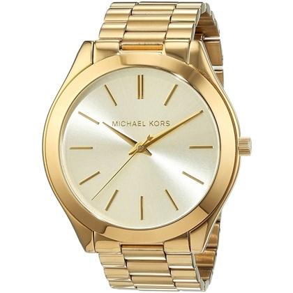 82553b088d47f Relógio Michael Kors Feminino Dourado MK3179 - My Time