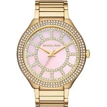 Relógio Michael Kors Feminino Dourado Rosa MK3396