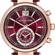 Relógio Michael Kors Sawyer Feminino Cronógrafo Lilás MK2426