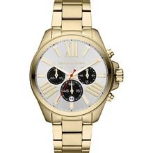Relógio Michael Kors Wren Feminino Cronógrafo Dourado ... b7bb4b401e