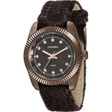 Relógio Momdaine Feminino Marrom Camurça 99062LPMVMH3
