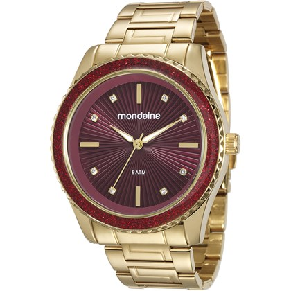 defa98293bd Relógio Mondaine Feminino 76568LPMVDE4 - My Time