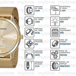 Relógio Mondaine Feminino 76752LPMVDE1