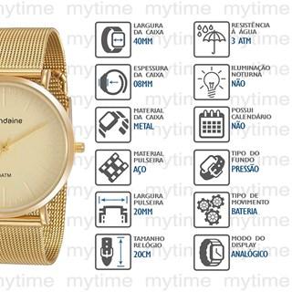 Relógio Mondaine Feminino 76778LPMVDE1