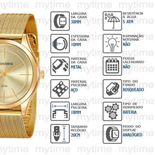 Relógio Mondaine Feminino 99463LPMVDE1