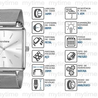 Relógio Mondaine Feminino 99487L0MVNE2