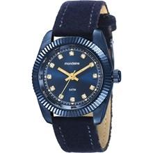 Relógio Mondaine Feminino Azul Camurça 99062LPMVEH2