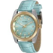 Relógio Mondaine Feminino Couro Azul 94924LPMVBR2