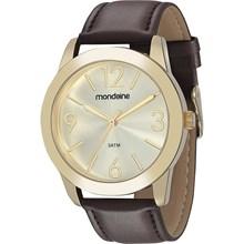 Relógio Mondaine Feminino Couro Marrom 83276LPMVDH1