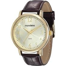 Relógio Mondaine Feminino Couro Marrom 83281LPMVDH1