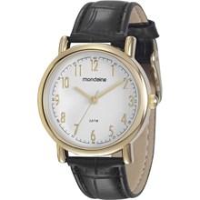 Relógio Mondaine Feminino Couro Preto 83282LPMVDH1