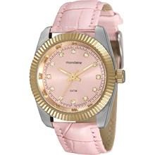 Relógio Mondaine Feminino Couro Rosa 94924LPMVBR3