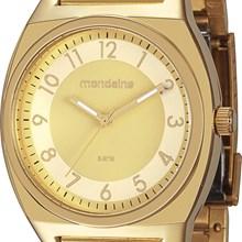 Relógio Mondaine Feminino Dourado 76308LPMFDE1