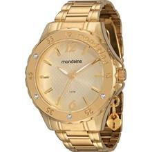 Relógio Mondaine Feminino Dourado 76315LPMEDE1