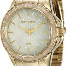Relógio Mondaine Feminino Dourado 76535LPMVDE1
