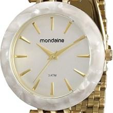 Relógio Mondaine Feminino Dourado 76559LPMVDE1