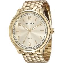 Relógio Mondaine Feminino Dourado 76619LPMVDE2