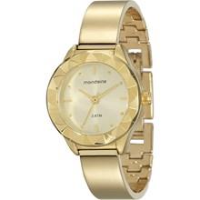 Relógio Mondaine Feminino Dourado 76629LPMVDM1