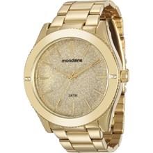 Relógio Mondaine Feminino Dourado 76696LPMVDE1