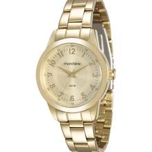 Relógio Mondaine Feminino Dourado 78521LPMVDA2