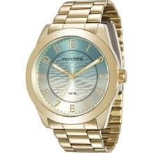 Relógio Mondaine Feminino Dourado 78690LPMVDA1