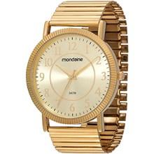 Relógio Mondaine Feminino Dourado 83205LPMVDE1