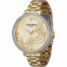Relógio Mondaine Feminino Dourado 94684LPMVDE1
