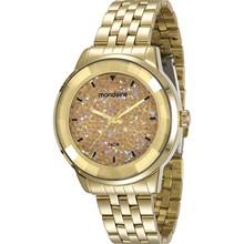 Relógio Mondaine Feminino Dourado 94713LPMVDE6