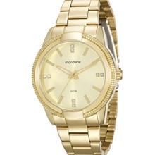Relógio Mondaine Feminino Dourado 94877LPMVDE2