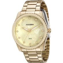 Relógio Mondaine Feminino Dourado 94988LPMVDE1