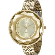 Relógio Mondaine Feminino Dourado 99054LPMVDE1