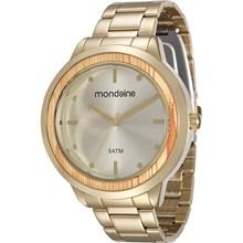 Relógio Mondaine Feminino Dourado 99055LPMVDE1